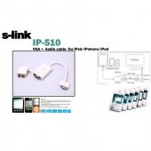 S Link Ip 510 Ipad To Vga Ve Audio Adaptör