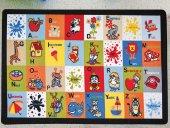 Confetti Çocuk Odası Anaokulu Oyun Halısı Letter Block