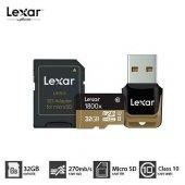 Lexar 32gb Micro Sd Hafıza Kartı Uhs Iı U3 4k 270mb S 1800x