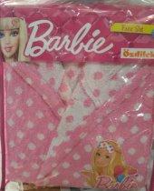 özdilek Barbie Lisanslı Sleep Free Bornoz Seti 7 8 Yaş
