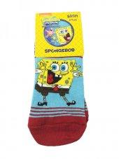 Spongebob Lisanslı Çoçuk Çorabı 8 9 Yaş Kırmızı
