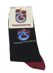 Trabzon Spor Lisanslı Çorap Siyah