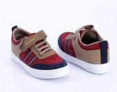 Kırmızı Lacivert Kum Çocuk Ayakkabı