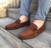 Taba Süet Casual Ayakkabı
