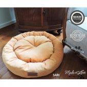 Wowpaw Luxury Döşeme Kedi Köpek Yatağı 60x60x15 Sarı