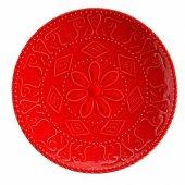 Kütahya Sun20td142578 Nc Sunflower 20 Cm Düz Tabak Kırmızı