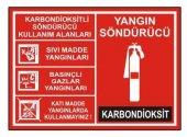 Yangın Söndürücü Levha Karbondioksit Söndürücü Kullanım Alanları
