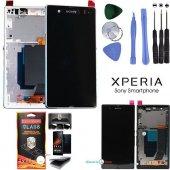 Sony L36h Xperia Z Lcd Ekran Ve Dokunmatik Panel