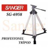 Sanger Sg 6958 Profesyonel Tripod