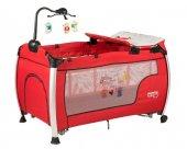 Sunny Baby 618 Delmon 70x120 Park Yatak (Kırmızı)