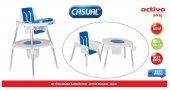 Casual Activa Mama Sandalyesi Ve Oyun Masası Mavi