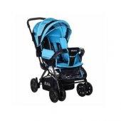 Prava Deluxe Bebek Arabası Mavi