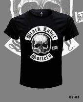 Büyük Beden Black Label Society Tişört