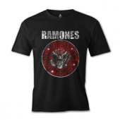 Büyük Beden Ramones Tişört