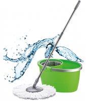 Proff Quatro Temizlik Seti Mob Temizlik Kovası Yeşil