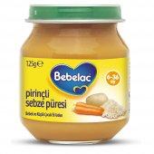 Bebelac Pirinçli Sebze Püresi 125 Gr Kavanoz Mamas