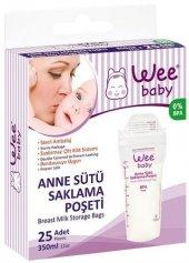 Wee Baby Anne Sütü Saklama Poşeti