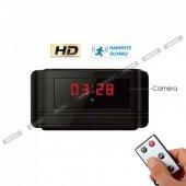 Full Hd Masa Saati Bakıcı Kamerası 12 Saat Kayıt Giz*li Kamera