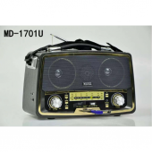 Kemai Md 1701u Usb Sd Fm Nostaljik Görünümlü Radyo Müzik Kutusu