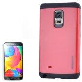 Gpack Samsung Galaxy S5 Kılıf Slim Case Armor + Kırılmaz Cam