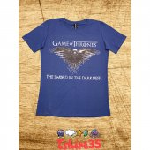 Game Of Thrones T Shirt , Tişört Mavi