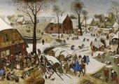 Grafika Puzzle 1000 Parça Numbering At Bethlehem (Brueghel Pieter)