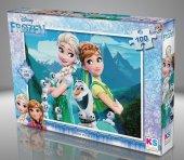Ks Games 100 Parça Disney Frozen Puzzle