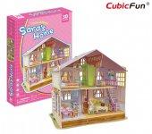 Cubic Fun 94 Parça Saranın Rüya Oyuncak Maket Evi