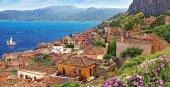 Castorland 4000 Parça Monemvasia Adası Yunanistan Panorama Puzzle