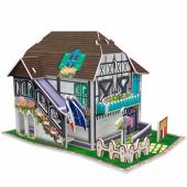 Cubic Fun 31 Parça Fransız Çiçek Evi 3d Maket