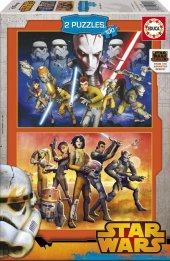 Educa 2x100 Parçalık Yapboz Star Wars Rebels