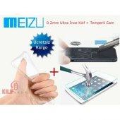 Meizu Mx4 Kılıf 0.2 Mm +tempered Glass