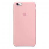 Apple Orijinal İphone 6 Plus 6s Plus Pembe Silikon Kılıf
