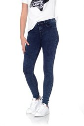 Only Bayan Kot Pantolon 15138866 Jeans Leggings Donna Only Blue