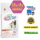 Yetişkin Köpek Maması Spectrum Sensitive26 12+3 Kg