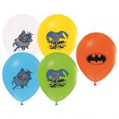 48 Adet Batman Baskılı Karışık Balon