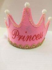 1 Adet Pembe Işıklı Prenses Tacı Parti Aksesuarı