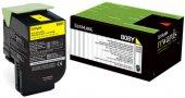 Lexmark 80c80y0 (808) Cx310 Cx410 Cx510 Sarı Toner Orj 1.000 Syf