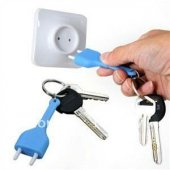 Unplug Keyring Fiş Ve Priz Anahtarlık