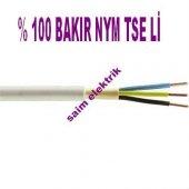 20 Metre 3x1mm.nym Antigron Kablo Tam Bakır