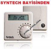 Syntech Kablosuz Programlanabilir Oda Termostatı Syn 177 Rf