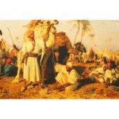 Aker Osmanlı Serisi Kervan Renk Krem &amp Siyah &amp Yağ Yeşili Kgak1 632
