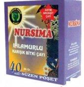 Nursima Ihlamurlu Karışık Bitki Çayı Çayı 40 Lı Kış Çayı
