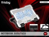 Frisby Fnc 5215st Alüminyum Standlı 5x Kademeli Dizüstü Notebook Laptop Soğutucu 2x14cm Ledli Fanlı Notebook Cooler Yeni Seri 10 İle 17 İnc Arası Uyumlu