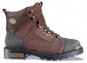Mp 172 6034 100 Deri Motorcu Çizme Erkek Kar Botu Ayakkabı