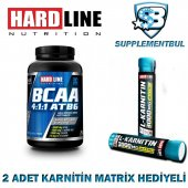 Hardline Bcaa 4 1 1 Atb6 120 Tablet + 2 Adet Karnitin Matrix 30 M