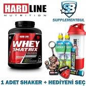 Hardline Whey 3matrix Tarçınlı Sahlep 2300 Gr. + 1 Shaker + Hedi