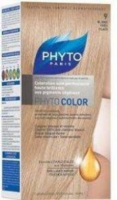 Phyto Color 9 Blond Tres Clair (Çok Açık Sarı) Bitkisel Saç Boyas