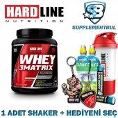 Hardline Whey 3matrix Çilek 908 Gr. + 1 Shaker + Hediyeni Seç