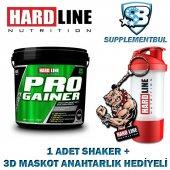 Hardline Progainer Çikolata 5000 Gr. + 1 Shaker + 1 3d Maskot Ana
